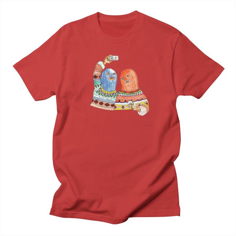 Selfies Women's Regular Unisex T-Shirt by DEADBEAT HERO Artist Shop