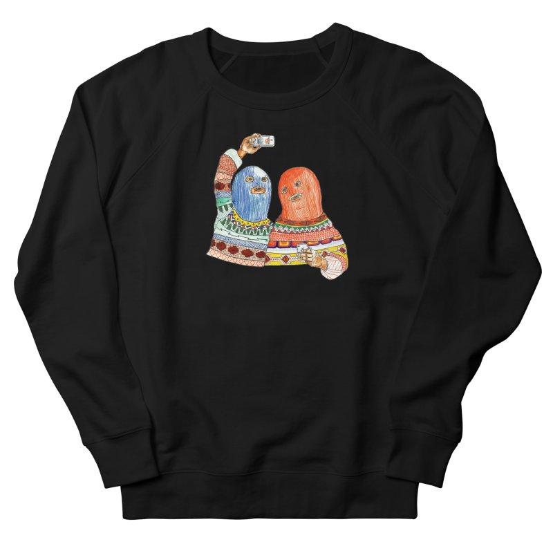 Selfies Women's French Terry Sweatshirt by DEADBEAT HERO Artist Shop