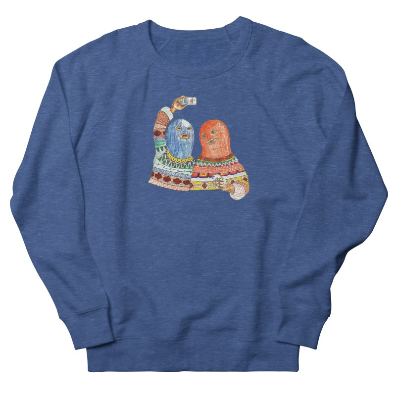 Selfies Men's Sweatshirt by DEADBEAT HERO Artist Shop