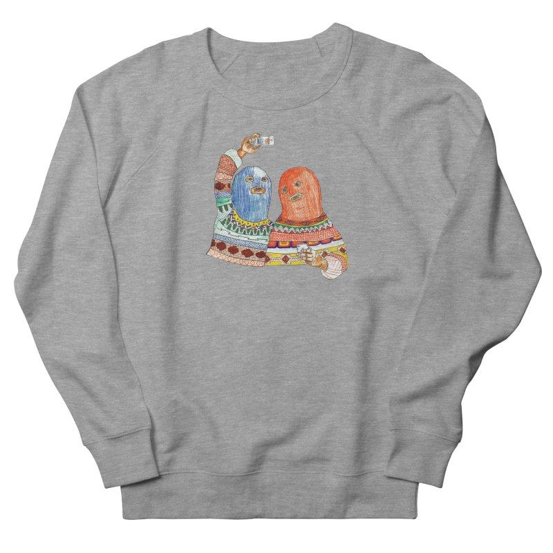 Selfies Men's French Terry Sweatshirt by DEADBEAT HERO Artist Shop