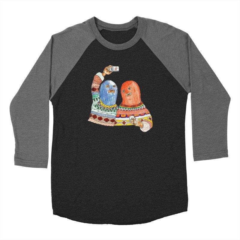 Selfies Women's Baseball Triblend T-Shirt by DEADBEAT HERO Artist Shop