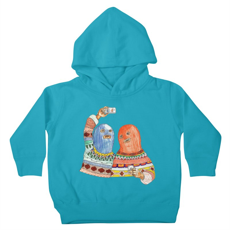 Selfies Kids Toddler Pullover Hoody by DEADBEAT HERO Artist Shop