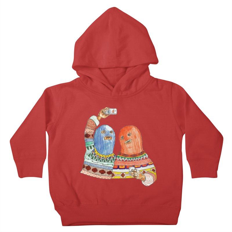Selfies Kids Toddler Pullover Hoody by DEADBEAT HERO Artist Shop
