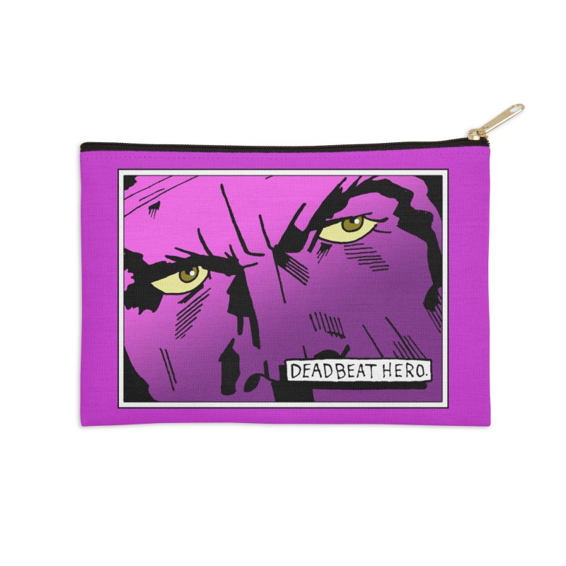 Deadbeat Hero. Accessories Zip Pouch by DEADBEAT HERO Artist Shop