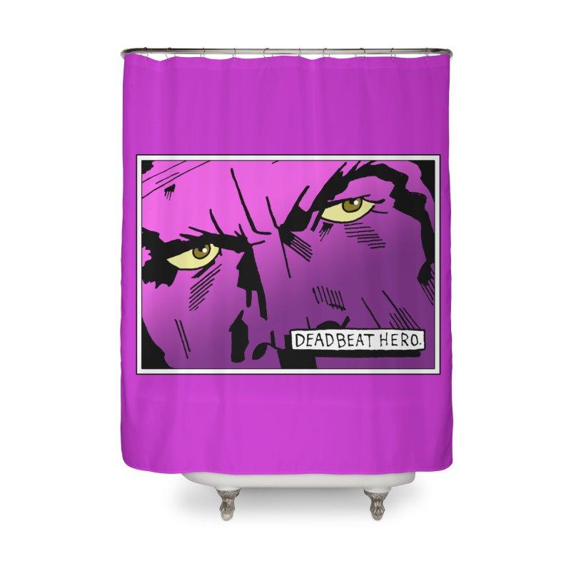 Deadbeat Hero. Home Shower Curtain by DEADBEAT HERO Artist Shop