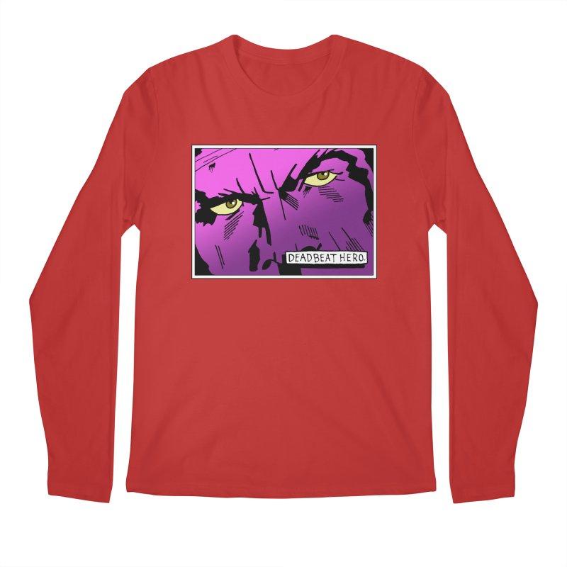 Deadbeat Hero. Men's Longsleeve T-Shirt by DEADBEAT HERO Artist Shop