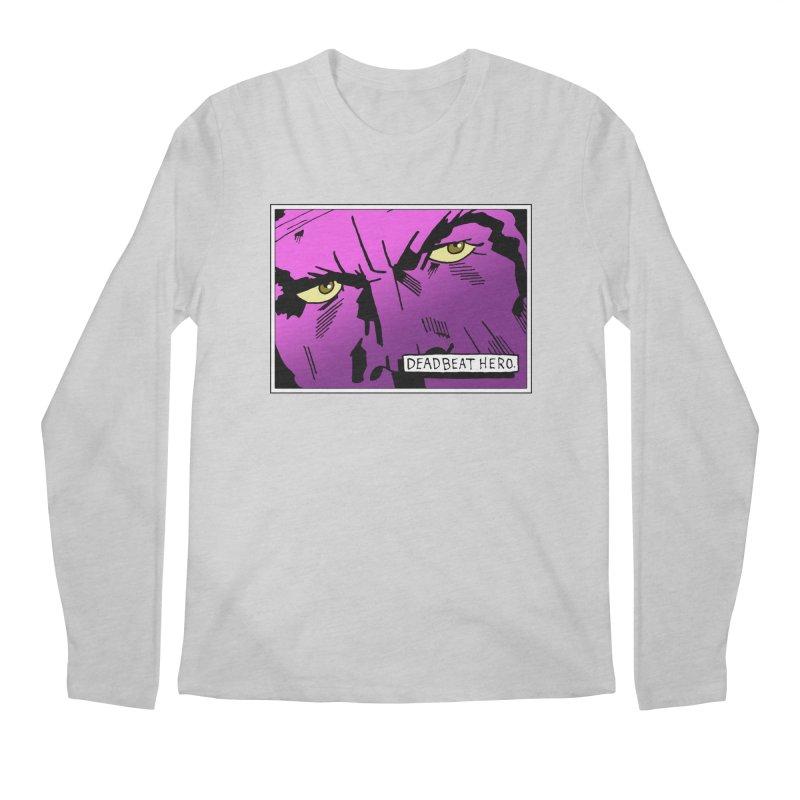 Deadbeat Hero. Men's Regular Longsleeve T-Shirt by DEADBEAT HERO Artist Shop