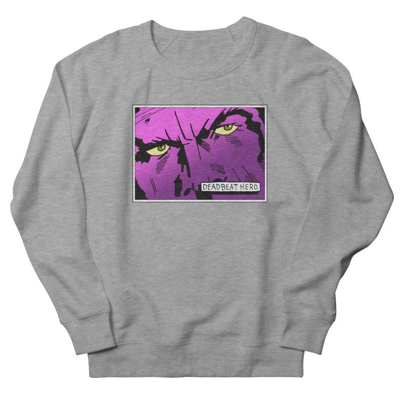 Deadbeat Hero. Women's French Terry Sweatshirt by DEADBEAT HERO Artist Shop