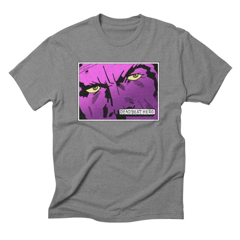 Deadbeat Hero. Men's Triblend T-Shirt by DEADBEAT HERO Artist Shop