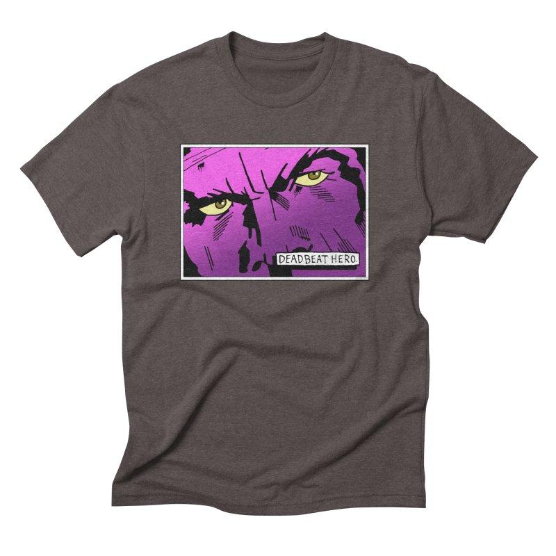 Deadbeat Hero. Men's Triblend T-Shirt by DEADBEAT HERO Artist Shop