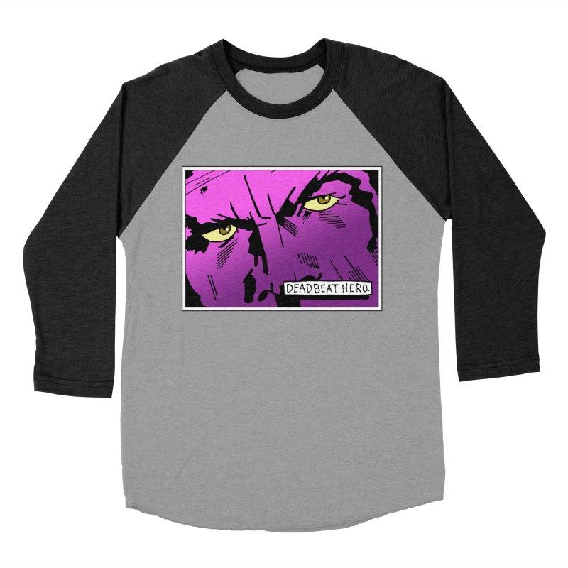 Deadbeat Hero. Women's Baseball Triblend Longsleeve T-Shirt by DEADBEAT HERO Artist Shop
