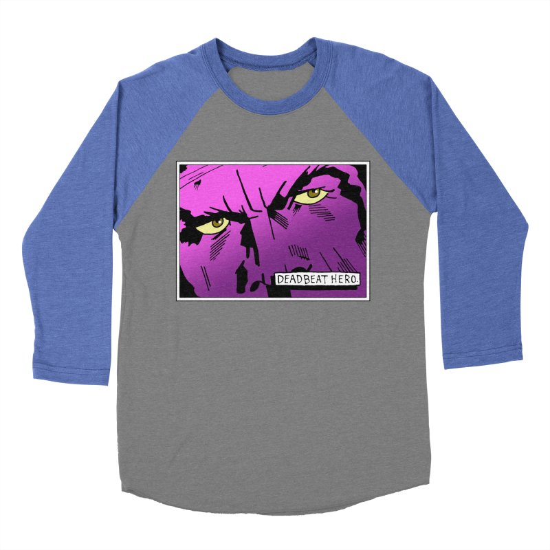 Deadbeat Hero. Men's Baseball Triblend Longsleeve T-Shirt by DEADBEAT HERO Artist Shop