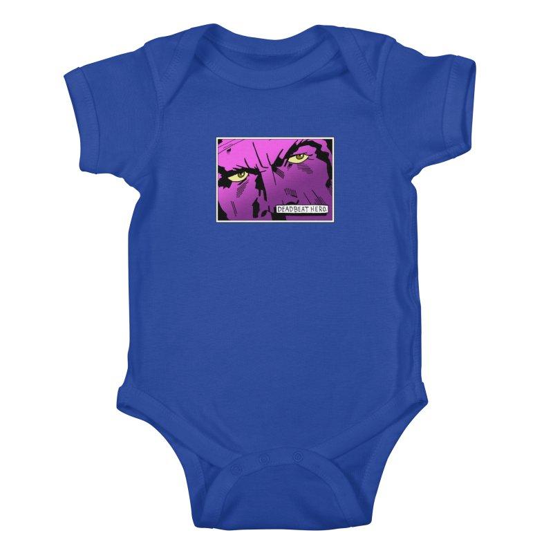Deadbeat Hero. Kids Baby Bodysuit by DEADBEAT HERO Artist Shop