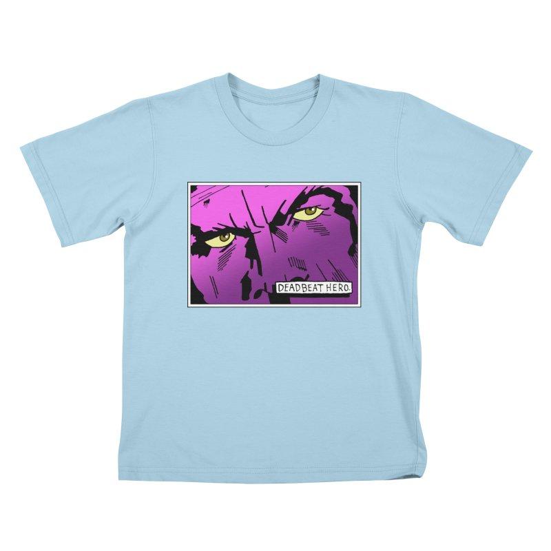 Deadbeat Hero. Kids T-Shirt by DEADBEAT HERO Artist Shop