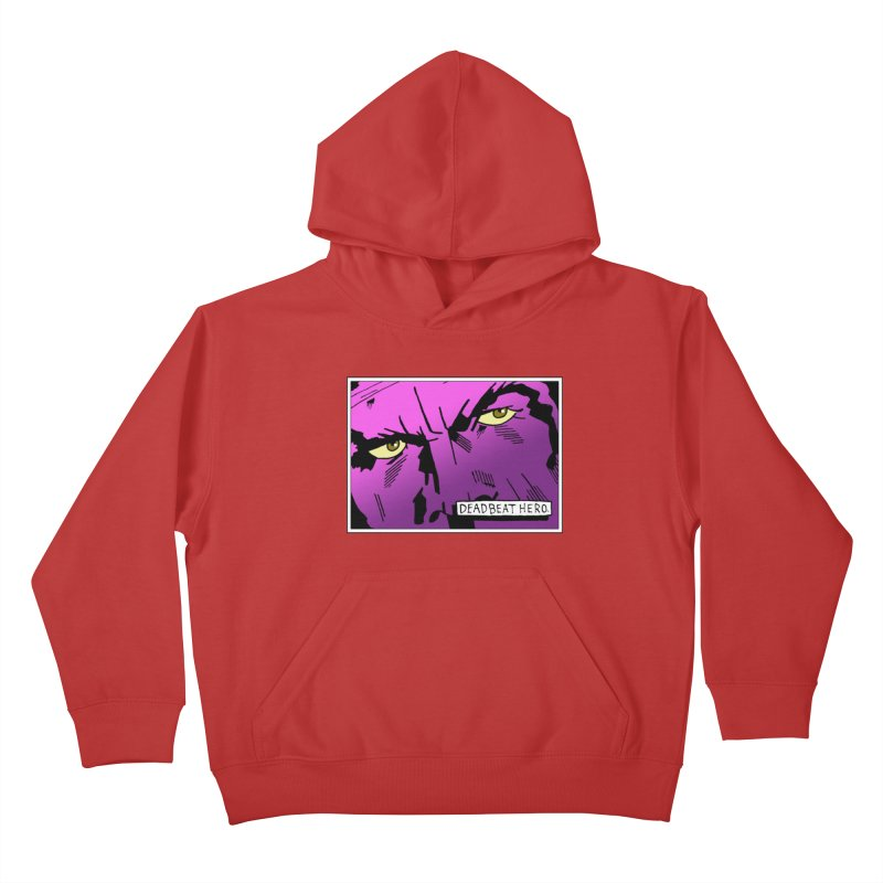Deadbeat Hero. Kids Pullover Hoody by DEADBEAT HERO Artist Shop
