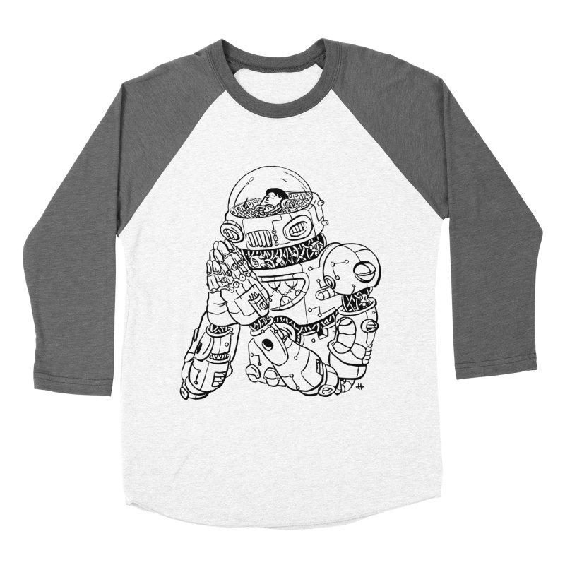 Spaceman Prey Women's Longsleeve T-Shirt by DEADBEAT HERO Artist Shop