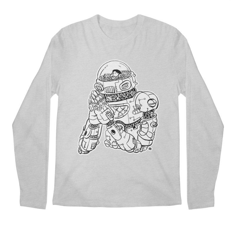 Spaceman Prey Men's Longsleeve T-Shirt by DEADBEAT HERO Artist Shop