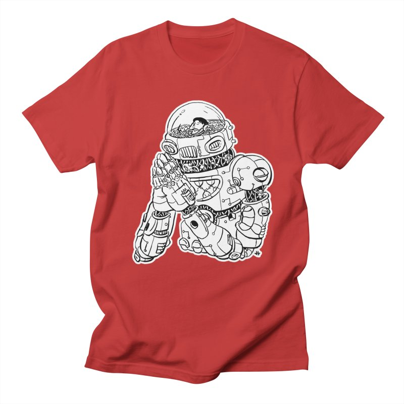 Spaceman Prey Men's Regular T-Shirt by DEADBEAT HERO Artist Shop