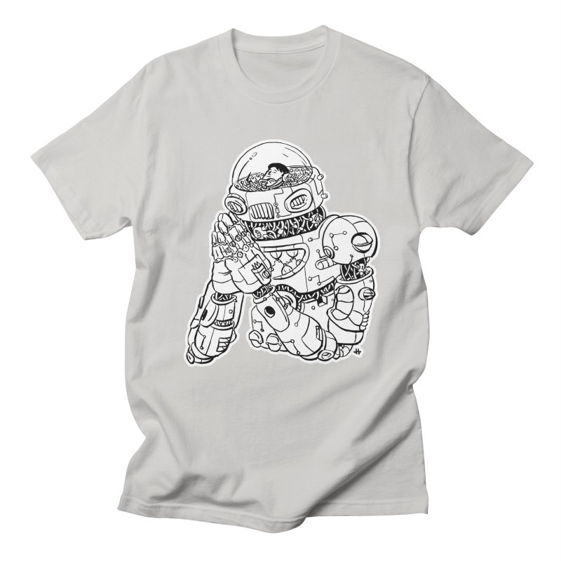 Spaceman Prey Women's Regular Unisex T-Shirt by DEADBEAT HERO Artist Shop