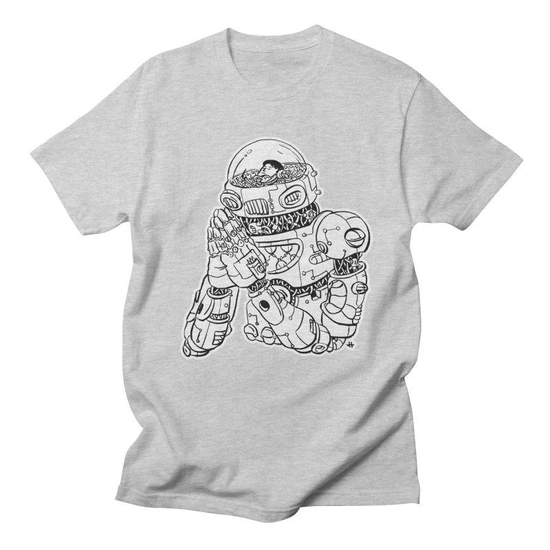 Spaceman Prey Men's T-Shirt by DEADBEAT HERO Artist Shop
