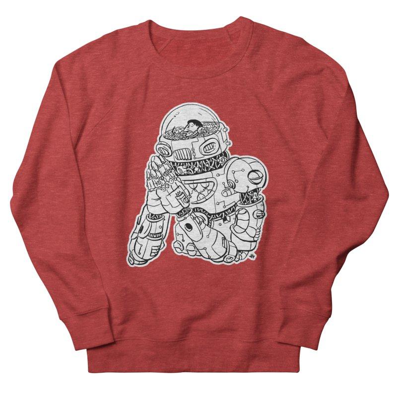 Spaceman Prey Women's French Terry Sweatshirt by DEADBEAT HERO Artist Shop