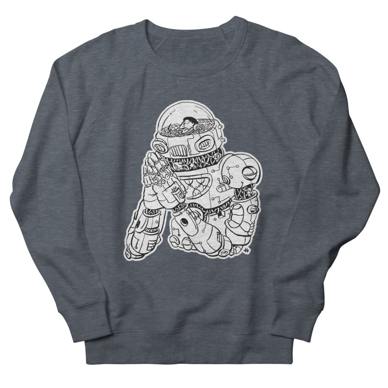 Spaceman Prey Men's Sweatshirt by DEADBEAT HERO Artist Shop