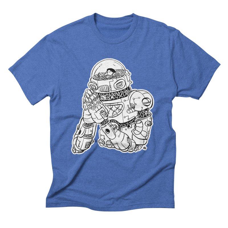 Spaceman Prey Men's Triblend T-Shirt by DEADBEAT HERO Artist Shop