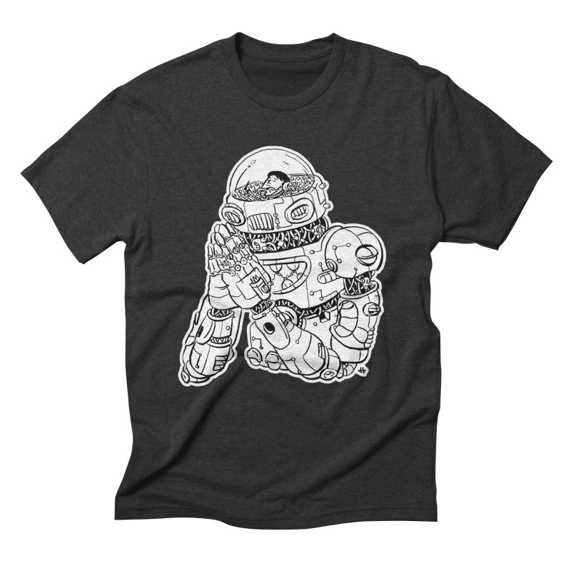 Spaceman Prey Men's Triblend T-Shirt by DEADBEAT HERO Artist Shop