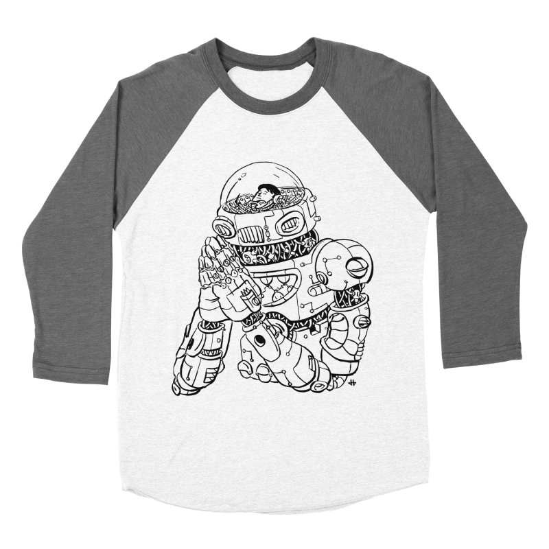 Spaceman Prey Women's Longsleeve T-Shirt by DEADBEAT HERO Artist Shop