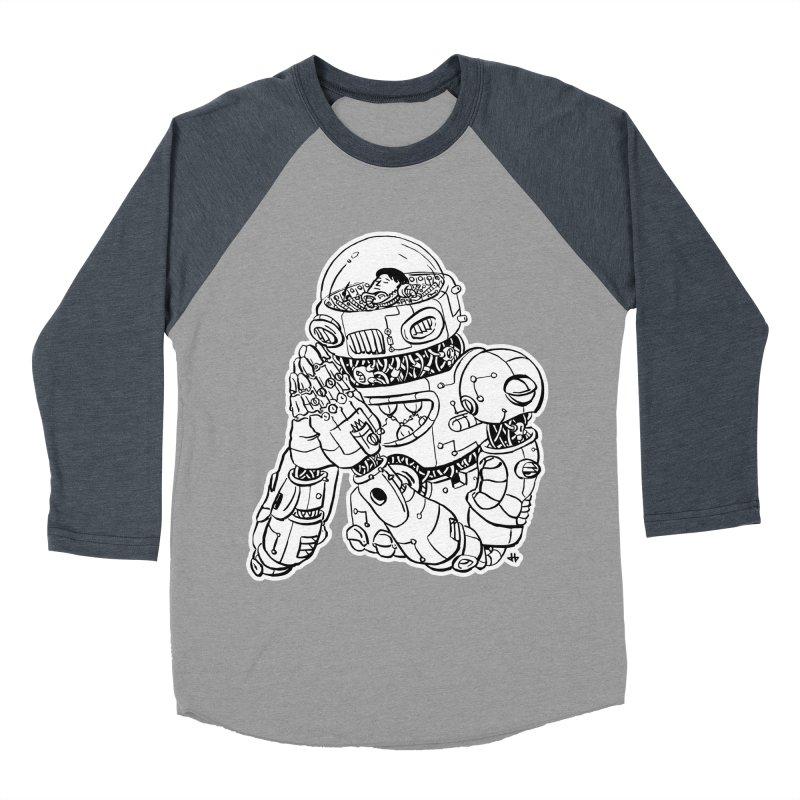 Spaceman Prey Men's Baseball Triblend T-Shirt by DEADBEAT HERO Artist Shop