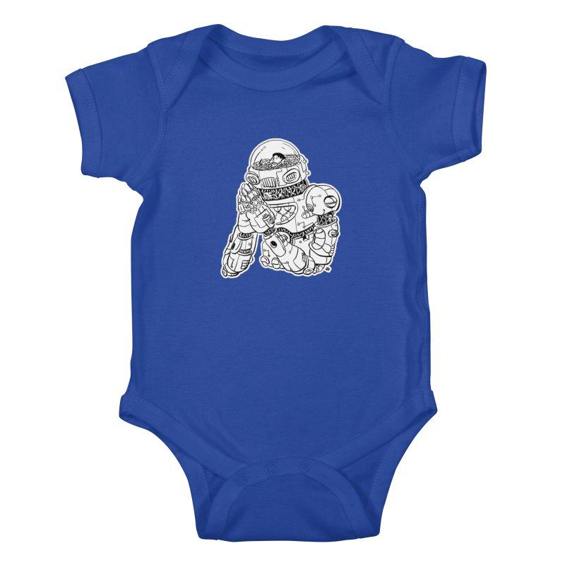 Spaceman Prey Kids Baby Bodysuit by DEADBEAT HERO Artist Shop