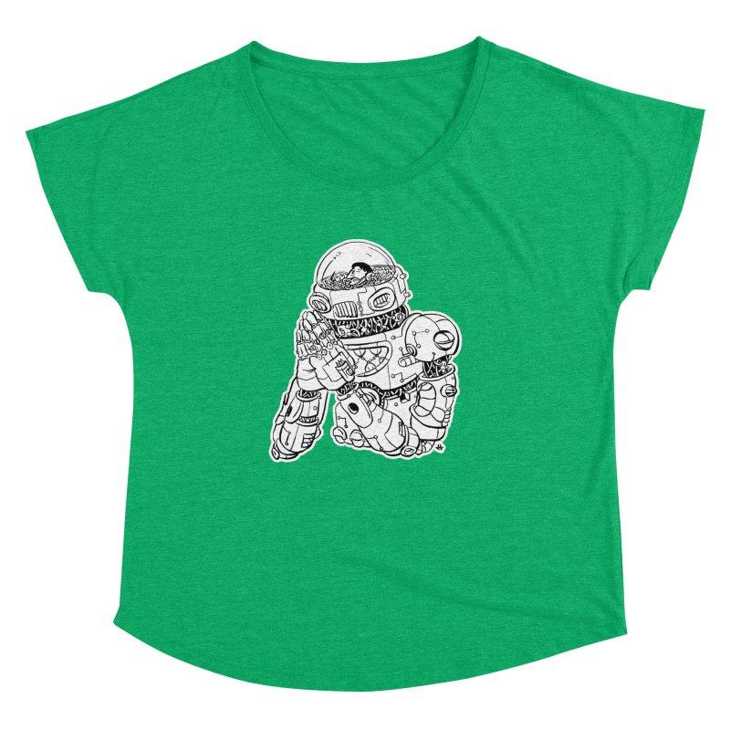 Spaceman Prey Women's Dolman Scoop Neck by DEADBEAT HERO Artist Shop