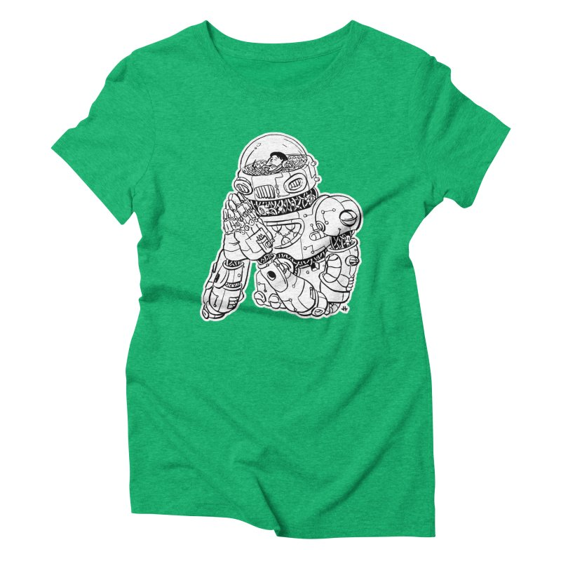 Spaceman Prey Women's Triblend T-Shirt by DEADBEAT HERO Artist Shop