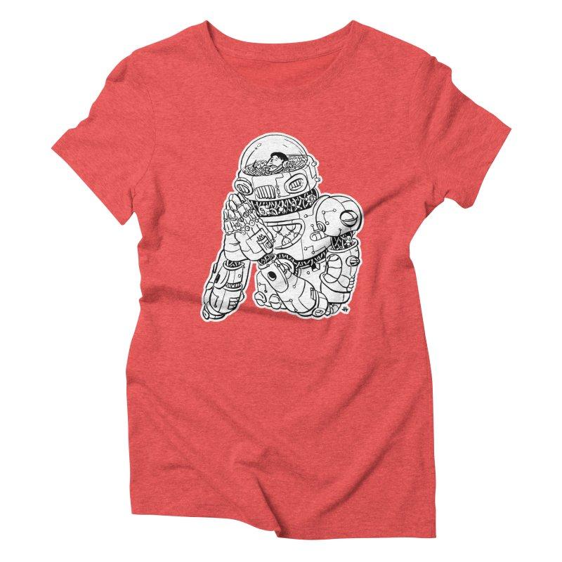 Spaceman Prey Women's Triblend T-Shirt by DEADBEAT HERO Artist Shop