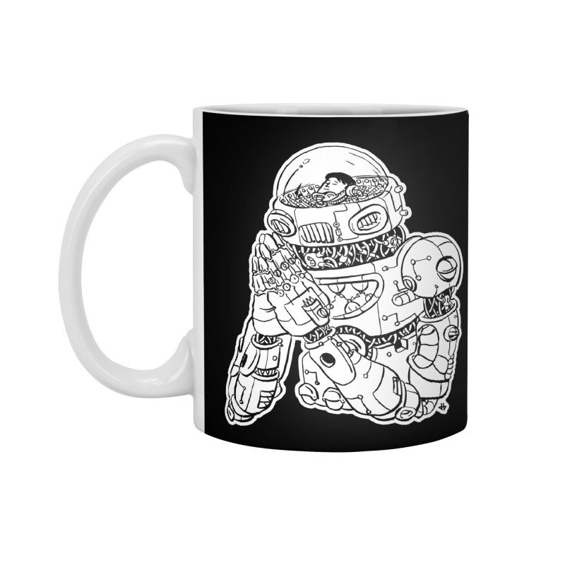 Spaceman Prey Accessories Mug by DEADBEAT HERO Artist Shop
