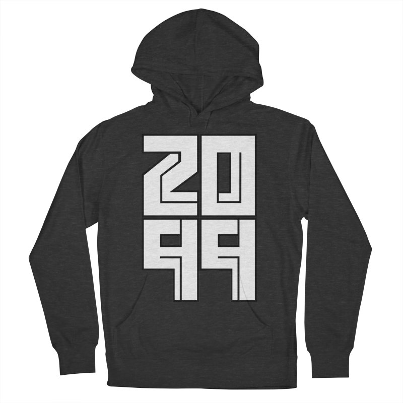 2099 KRUH Women's French Terry Pullover Hoody by DEADBEAT HERO Artist Shop