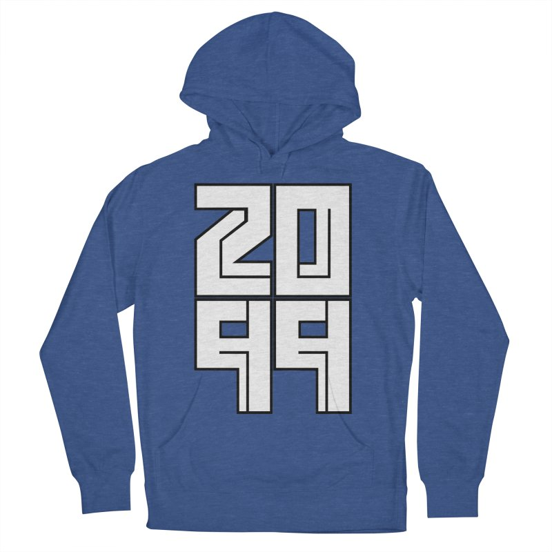 2099 KRUH Men's French Terry Pullover Hoody by DEADBEAT HERO Artist Shop