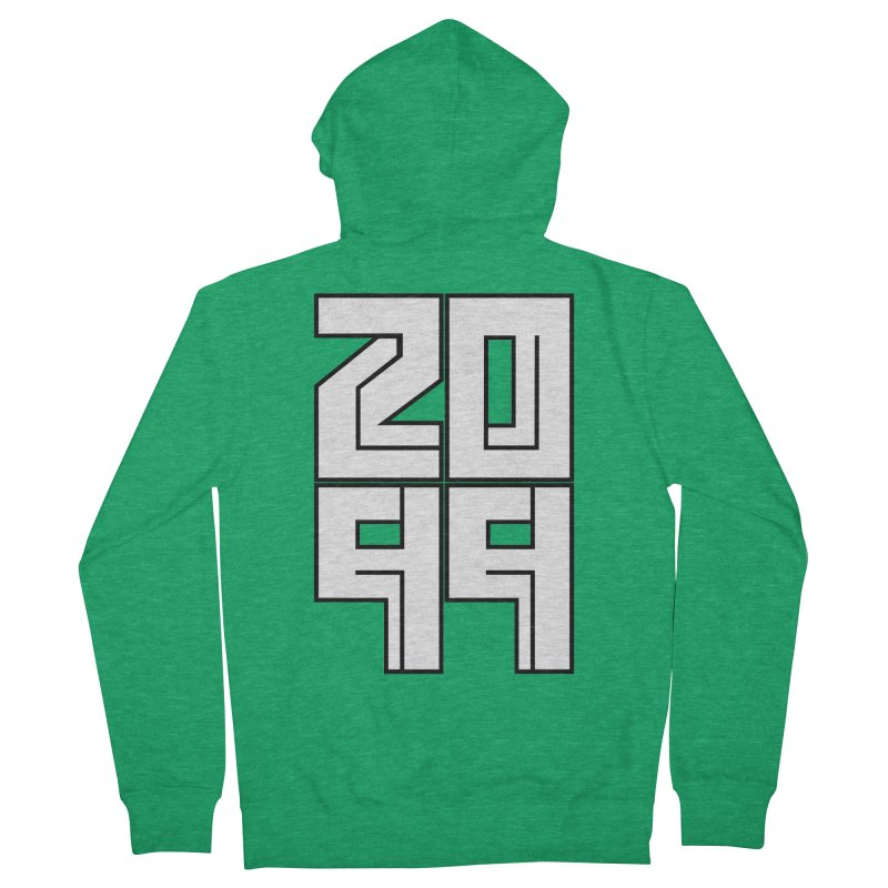 2099 KRUH Women's French Terry Zip-Up Hoody by DEADBEAT HERO Artist Shop