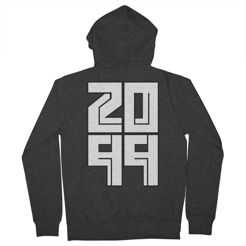 2099 KRUH Men's French Terry Zip-Up Hoody by DEADBEAT HERO Artist Shop