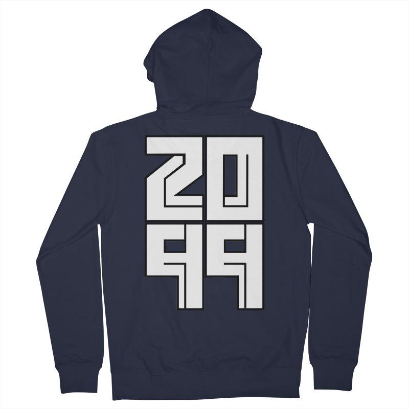 2099 KRUH Men's Zip-Up Hoody by DEADBEAT HERO Artist Shop