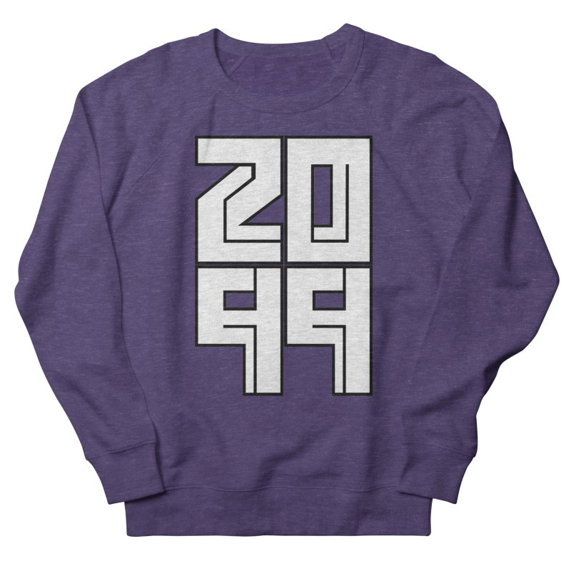 2099 KRUH Men's French Terry Sweatshirt by DEADBEAT HERO Artist Shop