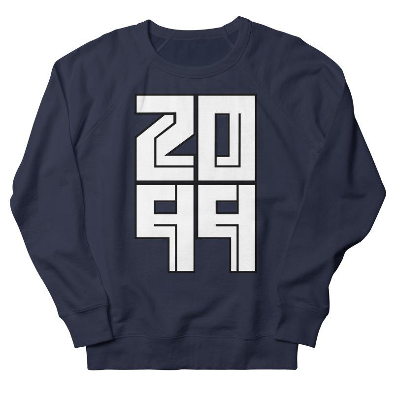 2099 KRUH Men's French Terry Sweatshirt by DEADBEAT HERO Artist Shop