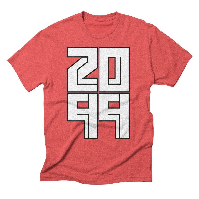 2099 KRUH Men's Triblend T-Shirt by DEADBEAT HERO Artist Shop