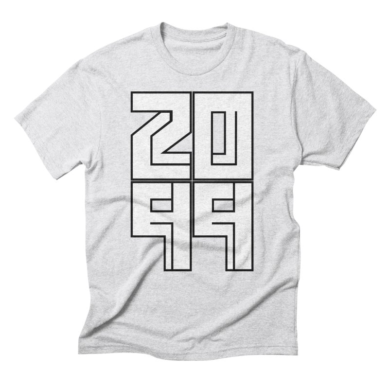 2099 KRUH Men's Triblend T-Shirt by DEADBEAT HERO Artist Shop