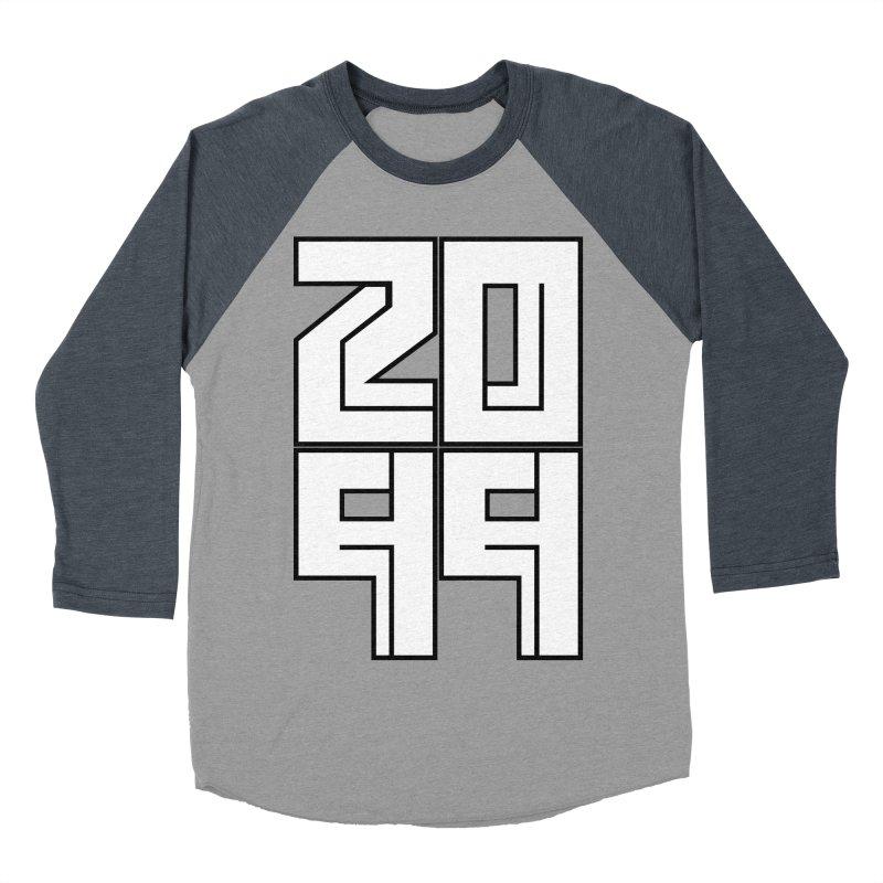 2099 KRUH Women's Baseball Triblend T-Shirt by DEADBEAT HERO Artist Shop