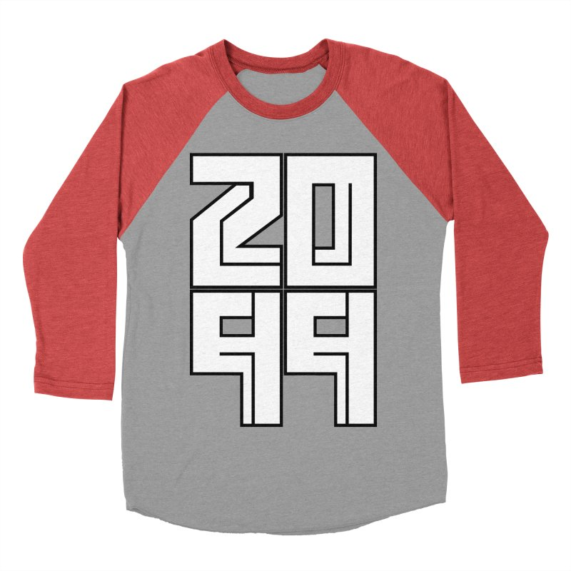 2099 KRUH Men's Baseball Triblend Longsleeve T-Shirt by DEADBEAT HERO Artist Shop