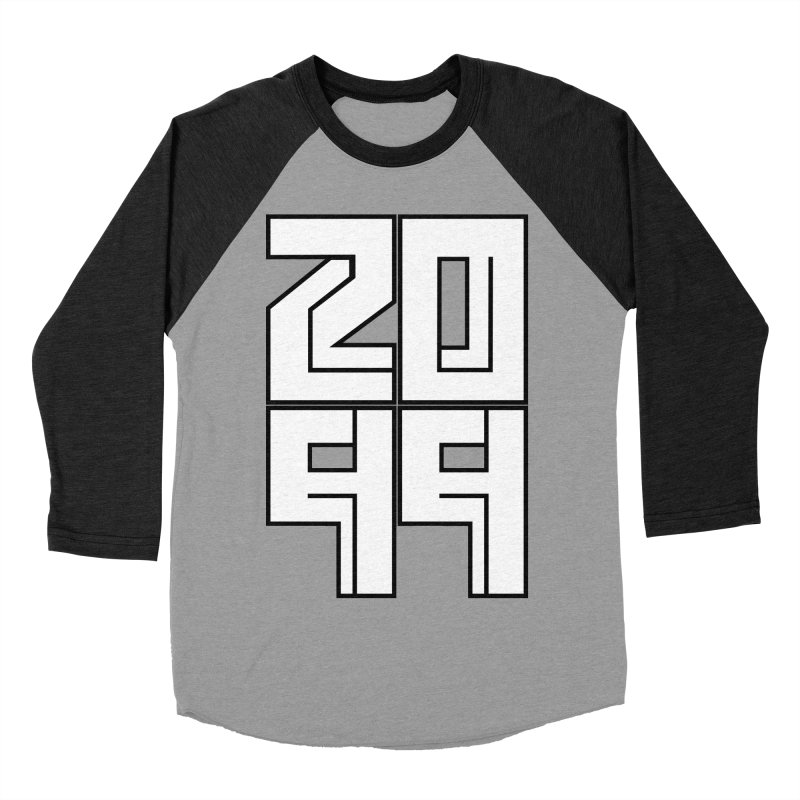 2099 KRUH Men's Baseball Triblend Longsleeve T-Shirt by DEADBEAT HERO Artist Shop