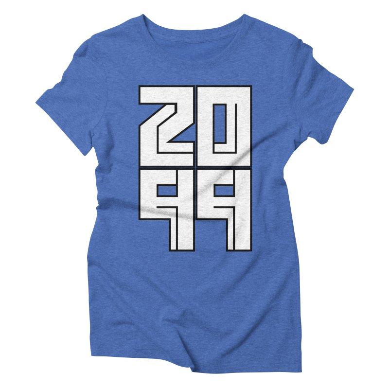 2099 KRUH Women's Triblend T-Shirt by DEADBEAT HERO Artist Shop