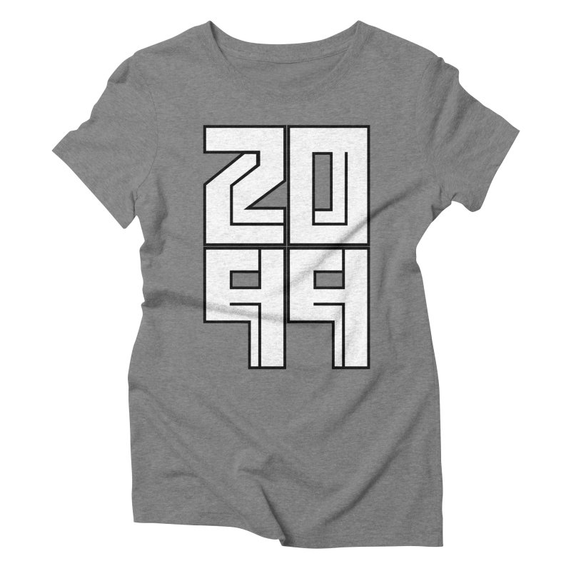 2099 KRUH Women's Triblend T-Shirt by DEADBEAT HERO Artist Shop