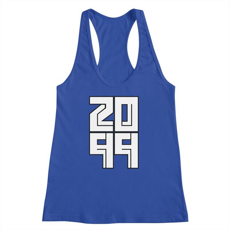 2099 KRUH Women's Racerback Tank by DEADBEAT HERO Artist Shop